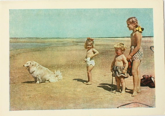 Post card 1958 year unused