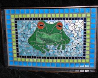 Stoner Frog Serving Tray