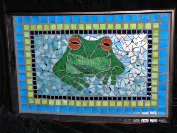 Stoner Frog Serving Tray