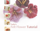 How to Make Felt Flowers - A Tutorial