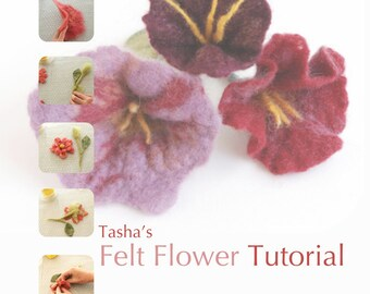 How to Make Felt Flowers - A Tutorial