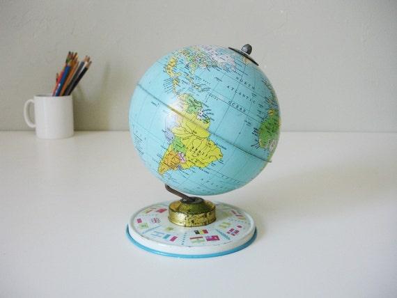 small united nations globe