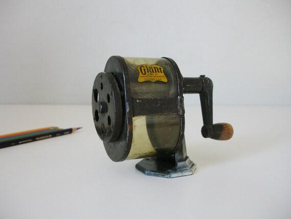 Vintage Giant Pencil Sharpener