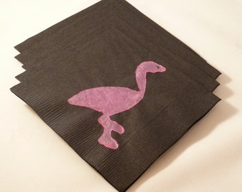 Pink Flamingo Paper Cocktail/ Lunch/ Dinner Napkins