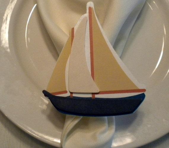 Nautical Napkin Rings - Set of 4