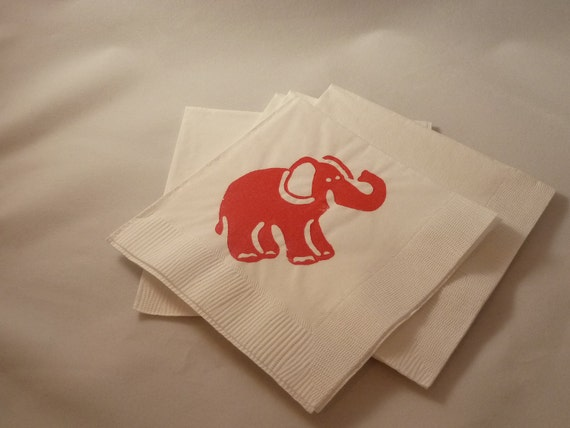 Custom Order for Mary O ... Red Elephant Paper by TheFortunateHome