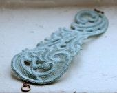 Lace Bracelet - Jeneth in Seafoam LAST ONE