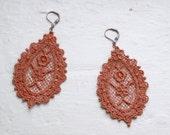 Lace Earrings - Finnea in Copper