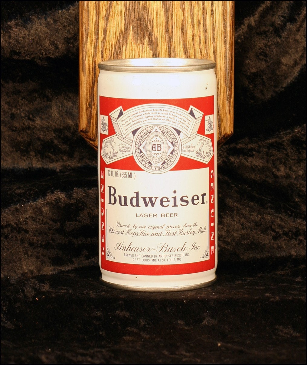 Budweiser Lager Beer Wall Mounted Bottle Opener With Vintage