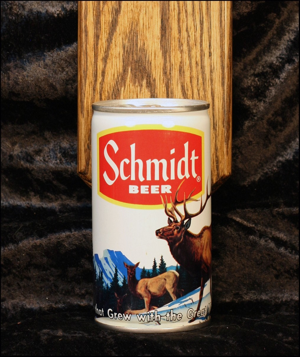 Schmidt Beer Elk Wall Mounted Bottle Opener With Vintage