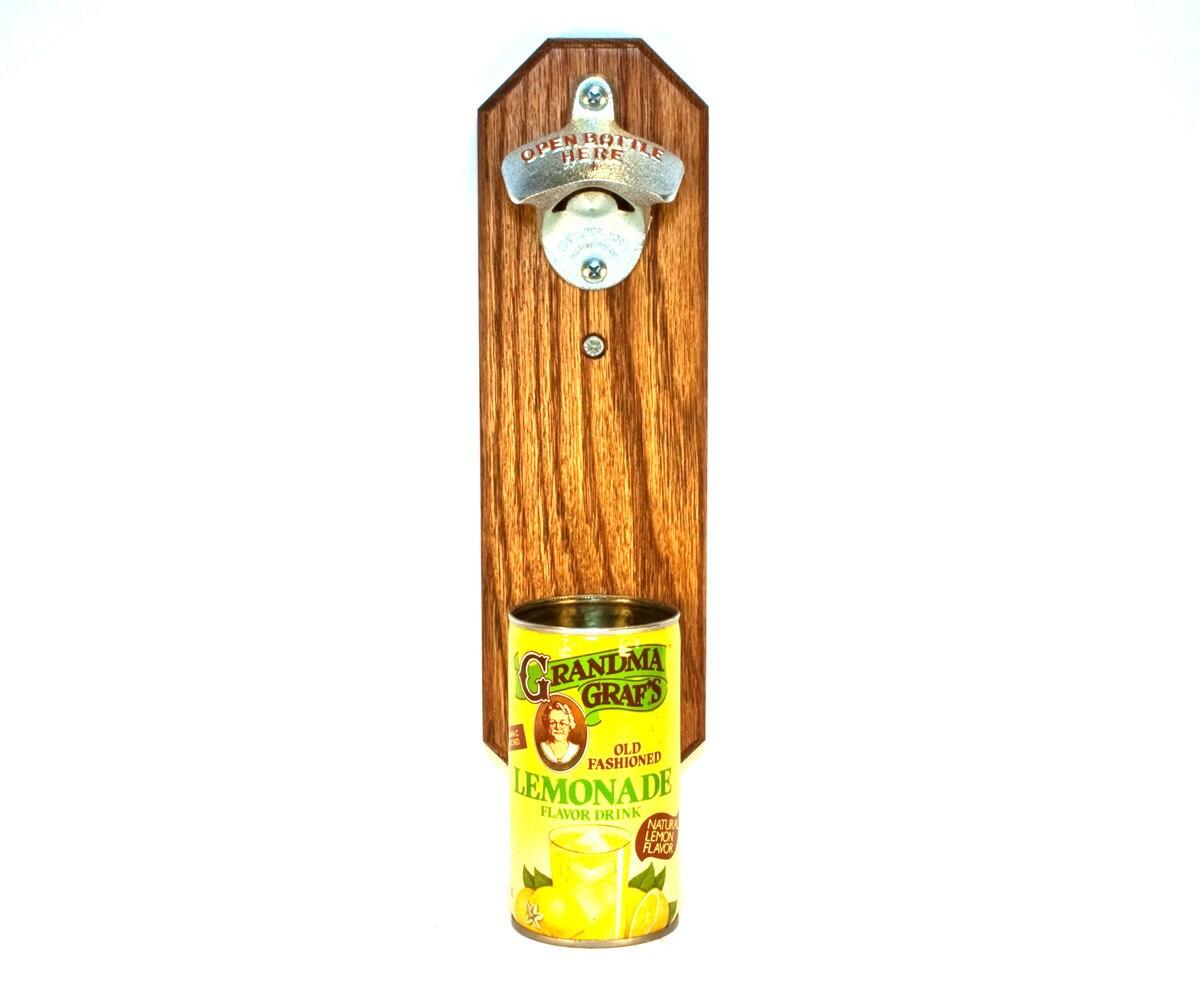 lemonade bottle opener with vintage grandma graf 39 s soda. Black Bedroom Furniture Sets. Home Design Ideas