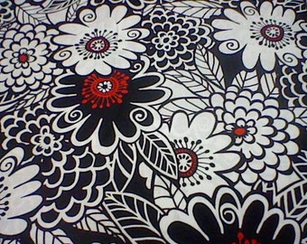 Michael Miller Zesty Zinnia Fabric - 1 yard