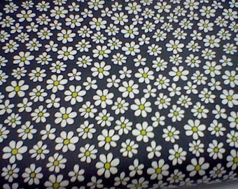 Michael Miller Dinky Daisy - Charcoal 1 yard 16""