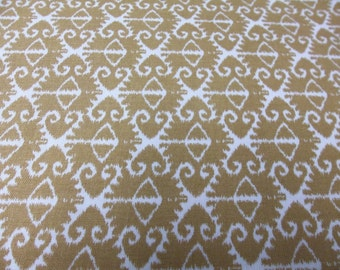 Just Reduced -Michael Miller Spa Ikat - Tan 1 yard