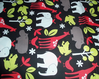 Michael Miller Zoology Black 1 yard