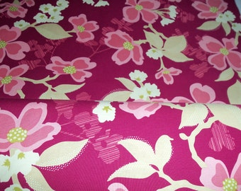 Joel Dewberry Modern Meadow - Dogwood Bloom  in Berry - 1 yard