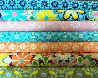 Free Spirit Design Fabrics - Grand Hotel - 1/2 yard each total of 3.5 yards