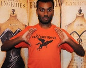 Greek Camp Shirt.  Unisex/Men American Apparel sizes small, medium, large, extra large, 2XL, or 3XL.