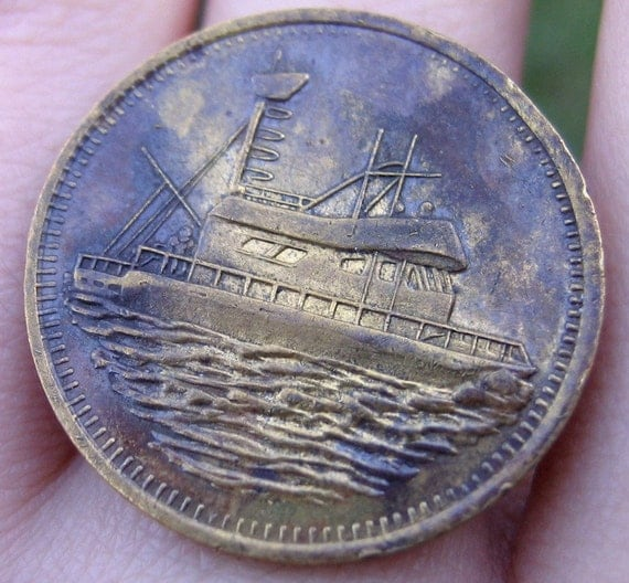 Boat Token Ring - Nautical Whimsy