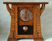 Arts and Crafts Clock