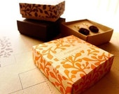 DIY small jewelry boxes - Customized printable templates for cardstock