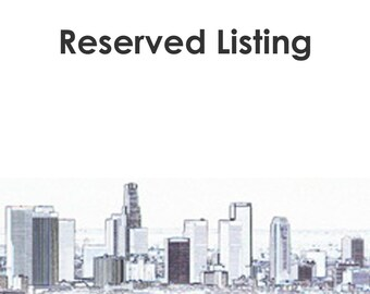 Reserved Listing for Priority Shipping