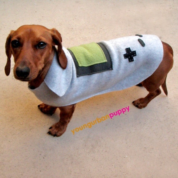 NINTENDO GAMEBOY Dog Costume