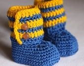Baby Ankle Boots - ready to wear (6-9 months)