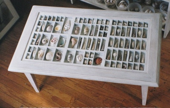 Custom Handmade Collector's Table