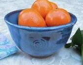 Denim-Blue Bowl