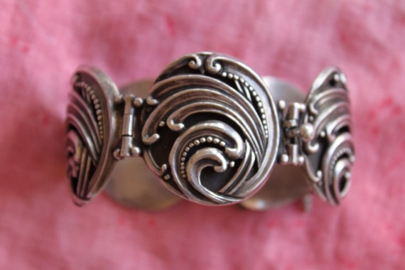 Margot de Taxco vintage sterling collectible bracelet 5513