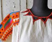 Vintage Colorful ETHNIC Embroidered Top
