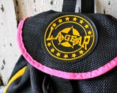Vintage 80's Black LA GEAR MINI Backpack