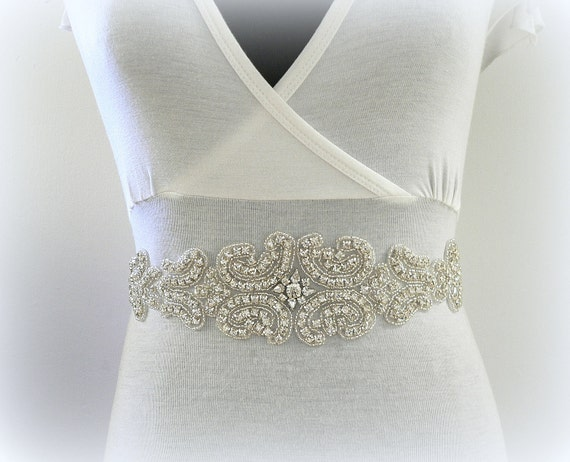 Crystal Dream-Bridal or special occasion sash