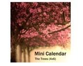 Special 2011 Mini Calendar - The Trees (4x6)