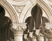 Venice Photography, Italy, Architecture Art, Neutral, Beige, Cream, Wall Art Classic Venice, Office Decor