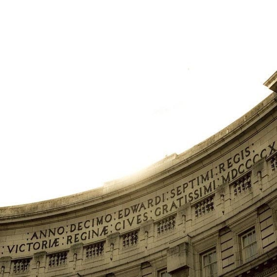 London Photography, White, Gold, Architecture, Neutral, Admiralty Arch, Travel Photography, London, UK, England, Minimalist