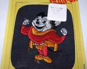 Vintage Iron On Patch, Mighty Mouse, washable