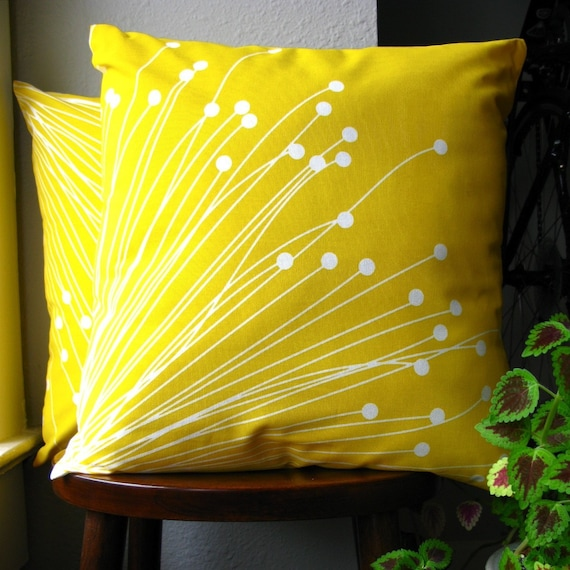 Sunshine Pillow Case by Crafts Cafe