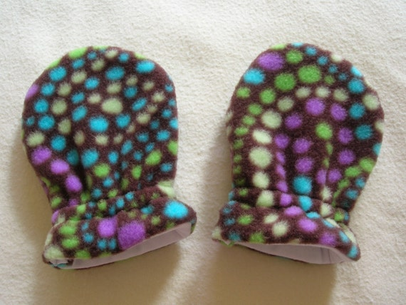SWIRL, Infant/Toddler Fleece Mittens
