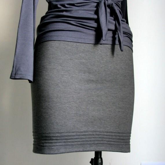 Classic Pencil Skirt, pleated handmade mini or knee length elegant romantic and casual