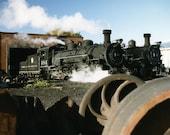 Steam Locomotive - Cumbres and Toltec Narrow Gauge Railroad - 8.5 x 11 - Photograph - Fine Art