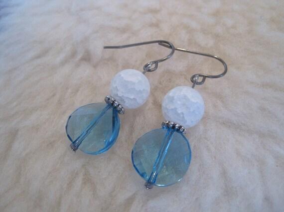 Niobium Earrings - Salt Lake - Hypoallergenic Earrings for Sensitive Ears // Nickel Free Earrings