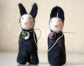 non-rabbits, dark grey