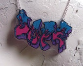 Dope Graffiti Necklace