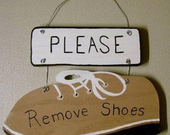 Sign, Remove Shoes, Please Remove Shoes, Home Decor, Remove Shoes Sign