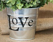Personalized Metal Bucket