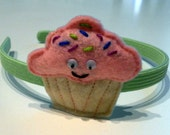 Clarissa Cupcake Headband