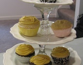 3 Tier Dessert Stand, Cupcake Stand, Appetizer Stand