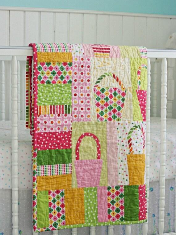 SALE Handmade Baby Quilt